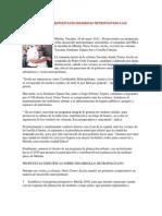 29 Mayo 2012 Noticias Contra Punto Nerio Torres Lleva Propuestas de Desarrollo Metropolitano a Las Colonias