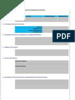 Modelo para Acta de Constitución del Proyecto