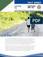 PRMF Factsheet 1 PRMF 2012 April