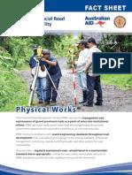 PRMF Factsheet 2 Physical Works 2012 April