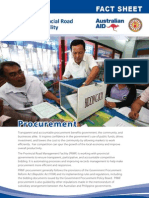 PRMF Factsheet 3 Procurement 2012 February