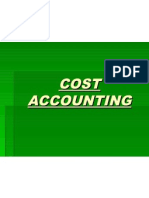 Cost Accounting Introduction
