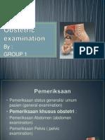 Obstetric Examination