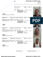Sequatchie County Arrests From 06-13-2012 To 06-19-2012