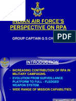 Indian Air Force's Perspective on Remotely Piloted Aircraft [RPA]