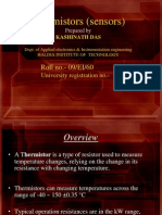 Thermistors (Sensors)