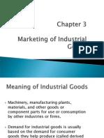 Chapter 3 - Mktg of Industrial Goods