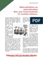 Délocalisation ou relocalisation