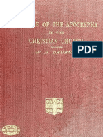The Use of the Apocrypha in the Christian Church (1900) Daubney, William Heaford