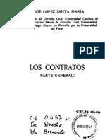 Lopez Santa María - Los contratos parte general