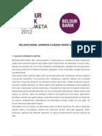 Beldur Barik lehiaketa oinarriak 2012