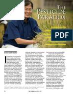 RT Vol. 7, No. 1 The pesticide paradox