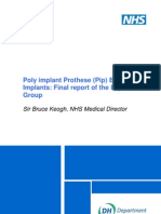 NHS PIP Implants Juny 2012