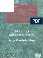 Derecho Administrativo - Carlos Fernandez Ruiz