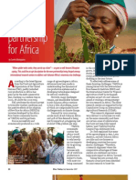 RT Vol. 6, No. 3 Forging a rice partnership for Africa