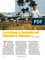 RT Vol. 6, No. 3 Letting a hundred flowers bloom