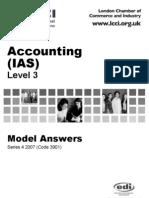 Accounting(IAS)/Series-4-2007(Code3901)