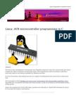 Linux Avr Microcontroller Programming
