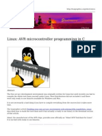 Linux Avr Microcontroller Programming