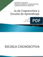 Escuela Cognoscitiva y Aprendizaje