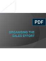 2.Organising the Sales Effort