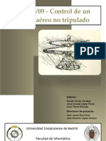 Control de Un Vehiculo Aereo No Tripulado