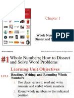 Chapter 1- Whole Number