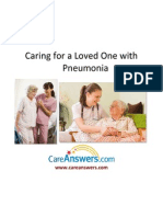 Caring for a Loved One with Pneumonia