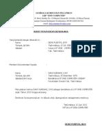 Surat Rekomendasi Pembukaan Rekening Bank
