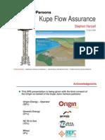 Kupe Flow Assurance