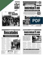 Versión impresa del periódico El mexiquense 22 junio 2012