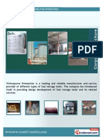 Vishwapurna Enterprises, Pune, Fuel Storage Tanks