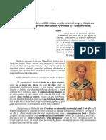 Consideraţii cu privire la o posibilă viziune creştin-ortodoxă asupra ştiinţei