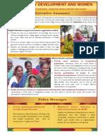 Community Development and Women