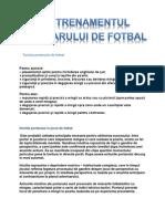 Tactica Portarului de Fotbal 1