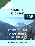 Rapport de Synthse - Boite Ides 2