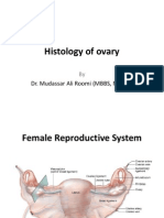 1st Lecture on the Histology of Female Reproductive System by Dr. Roomi