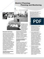 Decentralised District Planning