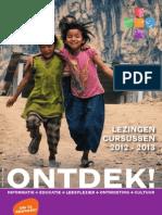 ONTDEK 2012-2013 Lezingen & cursussen