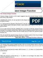 Printables Greatest Integer Function Worksheet greatest integer functions worksheet 1 doc function mathematics the function