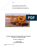 LaDOTD - 2002- Drilled Shaft Foundation Construction Inspection Manual
