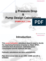 Pump Calculations