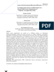Performance Enhancement Factors of ERP Projects in a Telecom Public Sector Organization of Pakistan