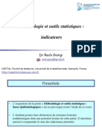 Methodologie et outils statistiques