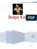 Burger King Case Group 2