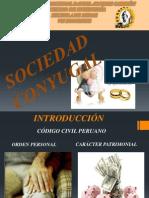 Diapositivas de Sociedad Conyugal