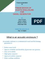 Final Acoustic Enclosure Presentation