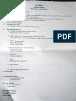June 20 Regular Meeting Agenda