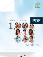 Dabur Annual Report 2011 12