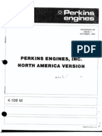 Perkins 4108 Parts Book